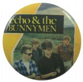 Echo & the Bunnymen - 'Group Field' Button Badge